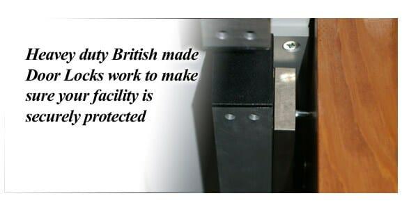 Automated Door Lock System Mag-Locks